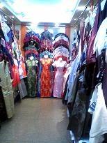 中国の洋服