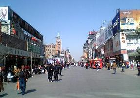 中国の通り