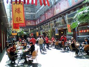 中国の屋台